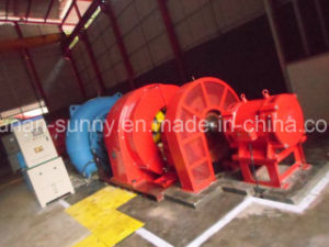 Horizontal Francis Hydro (Water) Turbine Generator Indoor/ Hydropower /Hydroturbine pictures & photos