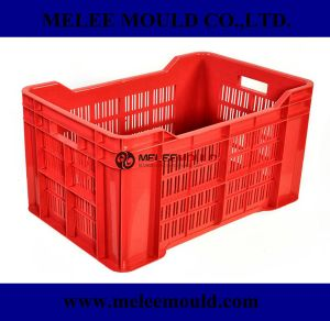 Heavy Duty Rectangular Stackable Dairy Milk Crates Mould pictures & photos