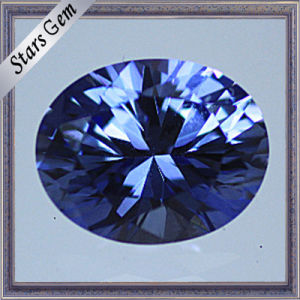 Top Quality Oval Brilliant Cut Shining Lab Sapphire for Jewellery pictures & photos