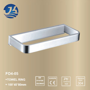 Stainless Steel Bathroom Sanitary Ware Towel Ring (F04-05)