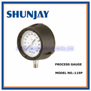 Phenolic Process Gauge Glycerin Filled Pressure Gauge