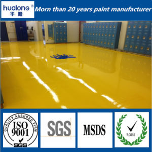 Hualong Mortar Skid Proof Epoxy Floor Paint pictures & photos