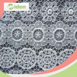 2016 Fabric Flower Pattern African Swiss Lace Nylon Embroidery French pictures & photos