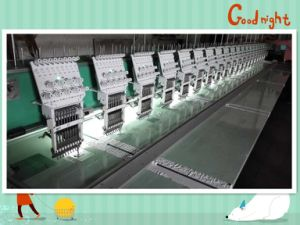 Computerized Flat Embroidery Machine for Cloth with High Speed pictures & photos