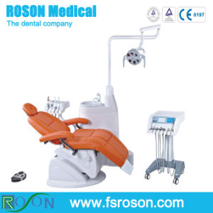 CE Marked Dental Chair / Folder Dental Unit with Cart