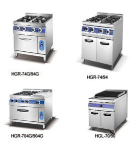 4 Burner Gas Oven with Free Standing Cooker (HGR-94G) pictures & photos