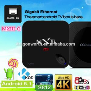 Quad Core Android 5.1 Mxiii G Smart TV Box pictures & photos