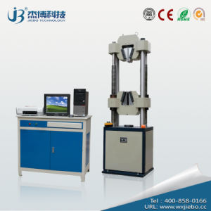 Wew-600b Microcomputer Screen Display Hydraulic Universal Material Testing Machine pictures & photos