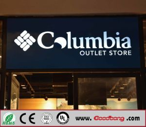 Wholesale Outdoor Advertising Vacuum Coating Acrylic Glowing Channel Letter for Shop pictures & photos
