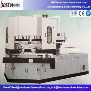 Bsd-60b Automatic Injection Blow Molding Machine for Small Plastic Bottle pictures & photos