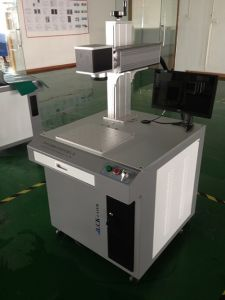 Stainless Steel Fiber Laser Marking Machines pictures & photos