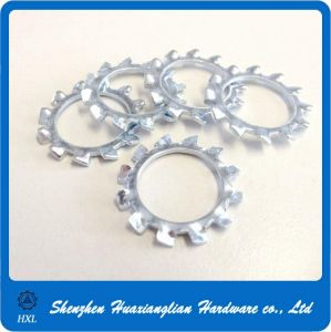 Customizable DIN6798 Serrated Lock Washer External Tooth Washer pictures & photos