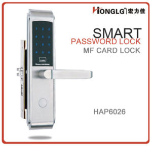 European Mortise Acrylic Touchpad Residential Door Lock (HAP6026) pictures & photos