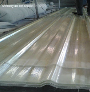 Shanghai Supplier Translucent FRP Roof Tile with Cost Price pictures & photos