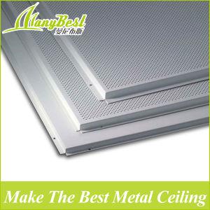 Cheap Square Aluminum Acoustic Heat Resistant Ceiling Tiles for Roof pictures & photos