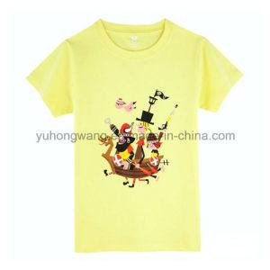 Promotion Cotton Men′s Printed T-Shirt pictures & photos