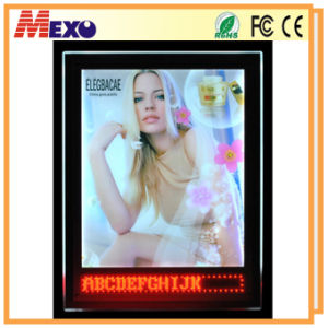 LED Wall Mount Acrylic Picture Photo Frame with Light pictures & photos