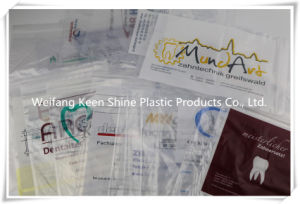 Zipper Bag, Zip Lock Bag, Clear with Customized Printing pictures & photos
