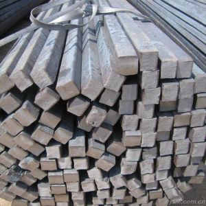 Hot Rolled Steel Bar with Square Cross-Section pictures & photos