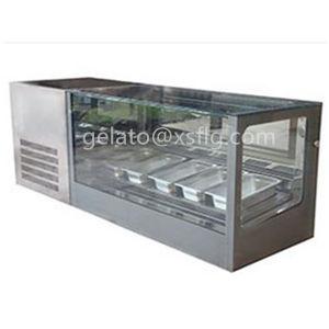 Ice Cream Freezer /90cm Ice Cream Showcase Price pictures & photos