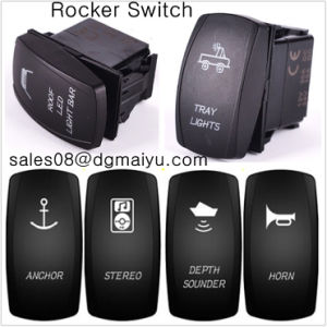 12V on/off Laser off-Road Rocker Switch LED Light Carling Arb Rocker Switch pictures & photos