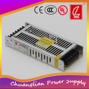 200W Slim Single Output Switching Power Supply