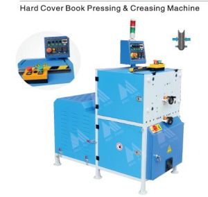 Hardcover Book Press and Grooving Machine Hspcm560 pictures & photos