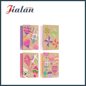 Colorful Logo Printed Wholesales Cheap Price 4c Printed Paper Bag pictures & photos