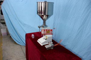 (A02) Pastecream Filling Machine 5-70ml, for Cosmetic, Liston, Chocolate Cream pictures & photos