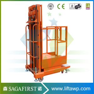 Mobile Electric Warehouse Use Goods Picker Platform pictures & photos