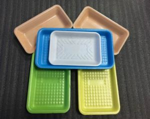 Safety Food Grade Custom Plastic PP/Pet Food Container for Meat Poultry with Absorbent Pad pictures & photos