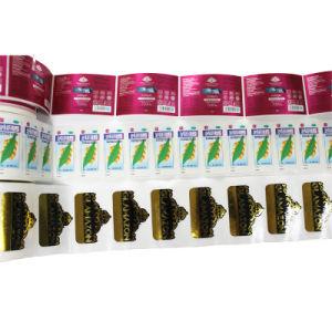 High Quality Bronzing/Medical Label