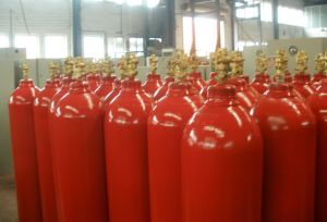 Cu Tr Approved GOST Approved Gas Fire Suppression System