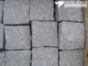 Natural Split Granite Garden Cobble Paving Stone for Flooring pictures & photos