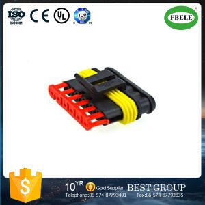 6 Pin Waterproof Male Female Auto Connector pictures & photos