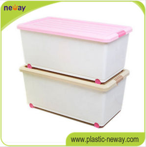 Healthy 65L Big Volume Household Plastic Storage Box pictures & photos