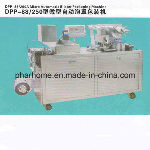 Dpp-88 Mini Blister Packing Machine, Automatic Blister Packaging Machine