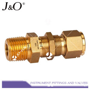 Straight Male Brass Instrument Tube Fitting pictures & photos