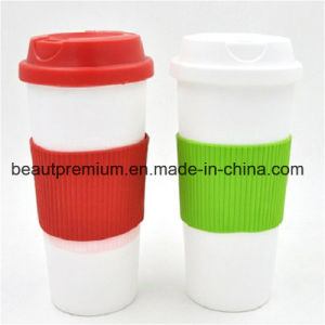 450ml Coffee Cup Mug with Cover Sedex and BSCI Audit Plastic Bottle BPS013