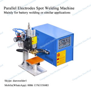 Microprocessor Lid Small Spot Welding Machine pictures & photos