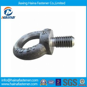 Grade 8.8 DIN580 Eye Bolt Lifting Eye Bolt DIN580 Forged Carbon Steel Zinc Plated Lifting Eye Bolt Screw pictures & photos