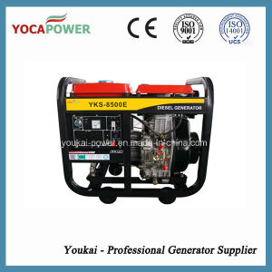 7kVA Air Cooled Portable Electric Generator Diesel pictures & photos