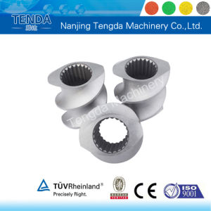 Bimetallic Screw and Barrel for Twin Screw Extruder pictures & photos
