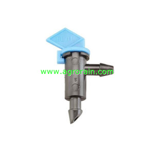 1gph Non Pressure Compensating Take Apart Drip Flag Emitter Flag Dripper 4L/H Black pictures & photos