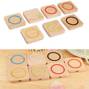High Quality Wood Qi Charger for Qi Universal Wireless Charger