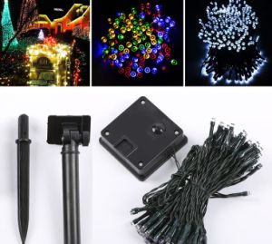 LED Solar Christmas Lights for Outdoor Decorations pictures & photos