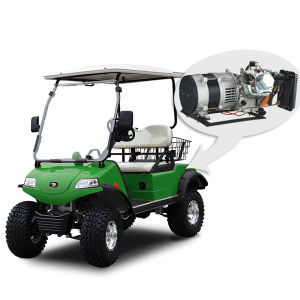 2-Seat Electric off-Road Hunting Cart with Basket & Hybrid pictures & photos