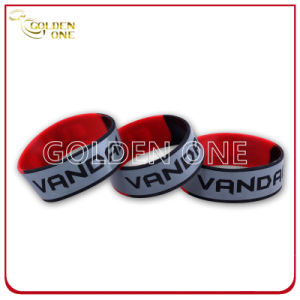Custom Child Size Debossed Silicone Silicone Wrist Band pictures & photos