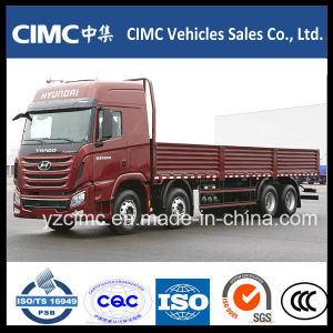 China 8*4 Hyundai Dump Truck with The Lowest Price pictures & photos