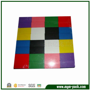 Simple Design Colorful Rectangle Wooden Kids Block Toy pictures & photos